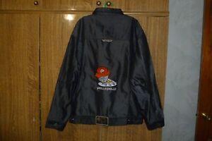 Seltene-Pelle-Pelle-Mark-Buchanan-Vintage-Jacke-Hip-Hop-Rap-90s-Biggie-STYLE-sz-XL