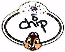 2010 Disney HKDL Name Tag Mystery Chip Pin N3
