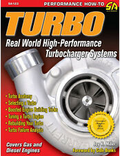 Turbo: Real World High-Performance Turbocharger Systems Book~BRAND NEW!
