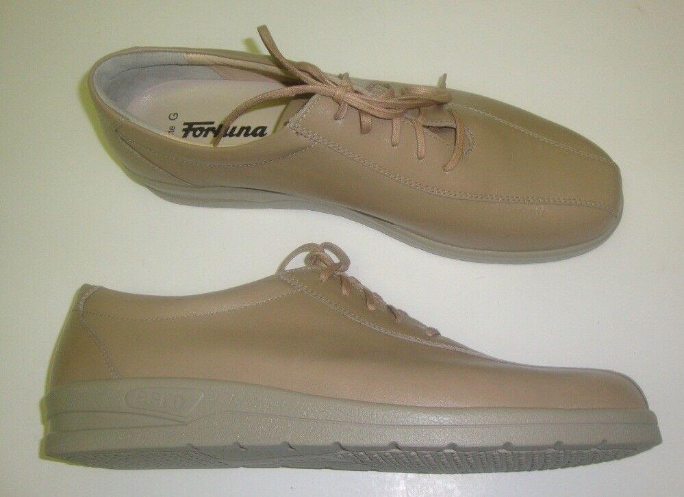 Aero By Fortuna Femmes Chaussures à Lacets Basses Surdimensionné Marron 44 Cuir