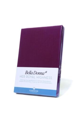 * Qualität ++++ FORMESSE Bella Donna Jersey Spannbettlaken alle Größen