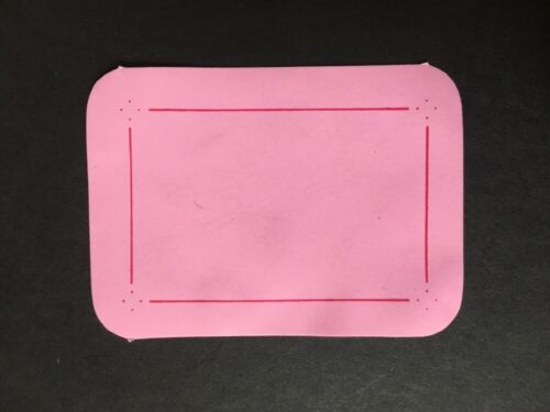 Sindy doll accessory pink mat work table dresser top place dinner ShimmyShim