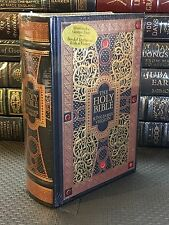 THE HOLY BIBLE King James Version GUSTAVE GORE ILLUSTRATED Leather BoundNEW OOP