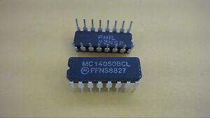 MOTOROLA-MC14050BCL-16-Pin-Dip-Integrated-Circuit-New-Lot-Quantity-10