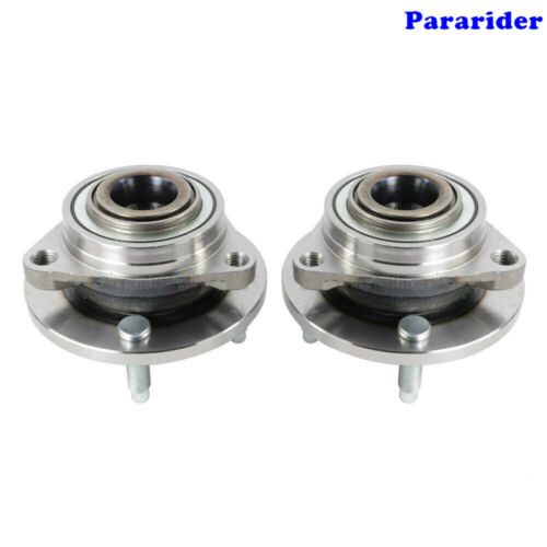 2 NEW Front Wheel Bearing Hub For 03-10 Chevy Cobalt  G5 4-Lug W//O ABS 513205