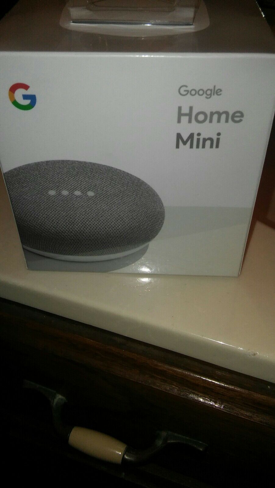 Google Home Mini assistant  (Chalk)-powered by Google