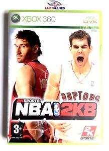 NBA-2K8-Xbox-360-Nuevo-Precintado-Videojuego-Retro-Sealed-Brand-New-PAL-SPA