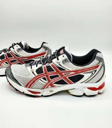 Asics Gel Cumulus 12 Red & Gray Running Shoes Men'