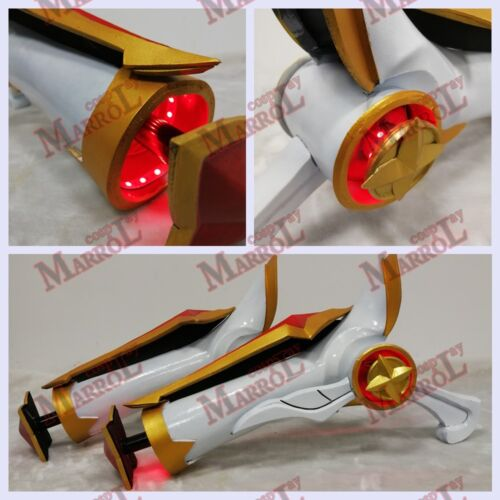 League of Legends Star Guardian Miss Fortune Weapon Guns LED Light Cosplay Prop