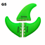 Future-Fins-G5-G7-Surfing-Paddling-Honeycomb-Fiberglass-Fin-3-PCS-Set thumbnail 5