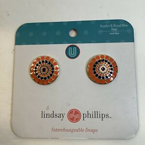 Lindsay-Phillips-Shoe-Snaps-SwitchFlops-Gold-With-Pink-And-Brown-Circles-New