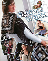 Granny Square Wear Ladies Small To Plus Sizes, Annie's Crochet Patterns
