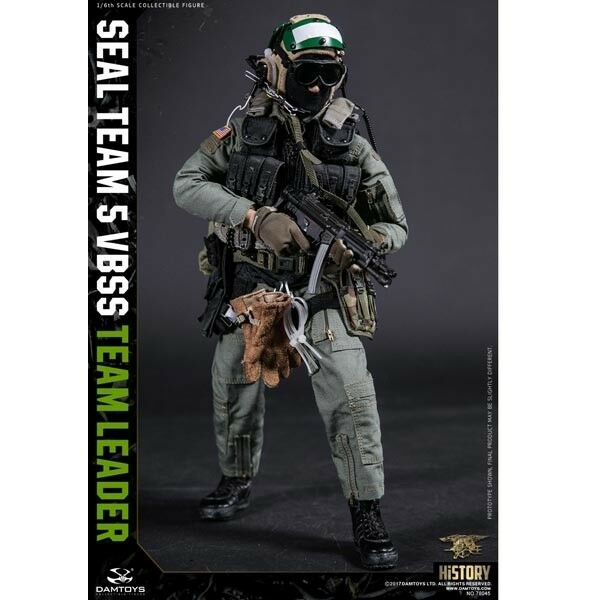 VBSS Team Commander 1//6 Scale Damtoys Action Figures Green Harness Set