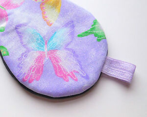 Pretty Sleep Mask Glitter Blindfold Butterfly Eye Shade Cover Night