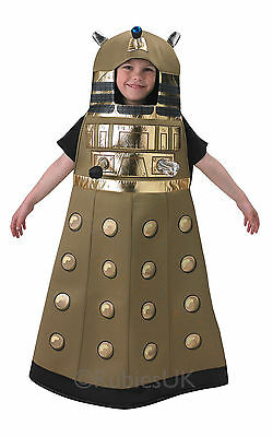 Official Boys Dalek Doctor Dr Who Book Day Halloween Fancy Dress Costume Outfit