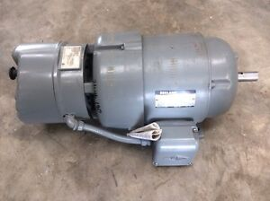 New reuland 5 hp motor with 25 lb ft sterns brake 215 for 5 hp 1800 rpm motor