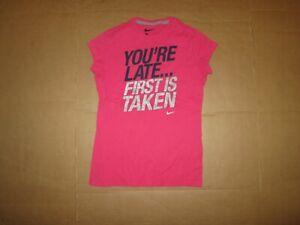 Filles Nike Athletic Tee T Shirt L Lg-afficher Le Titre D'origine Pour AméLiorer La Circulation Sanguine