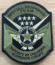 US Marshals Service - DC Superior Court SRT Team OD-Genuine *Kokopelli Patch*