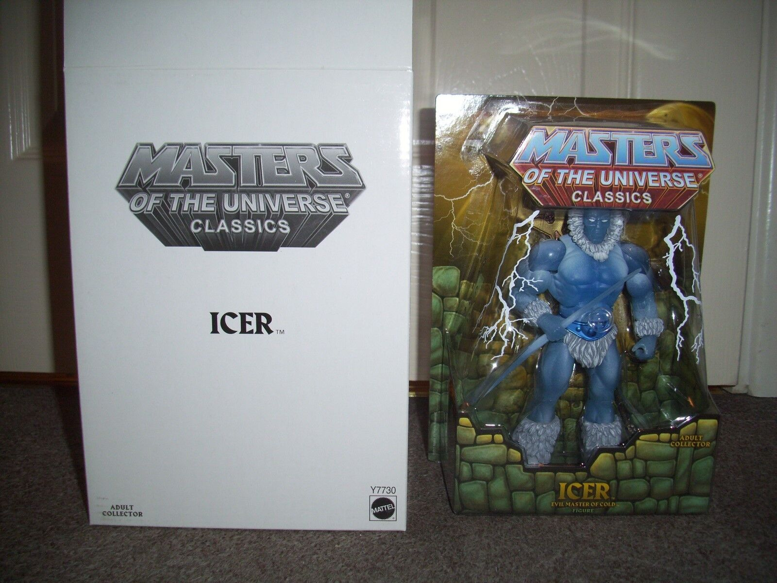 MASTERS OF THE UNIVERSE CLASSICS ICER figure. still sealed