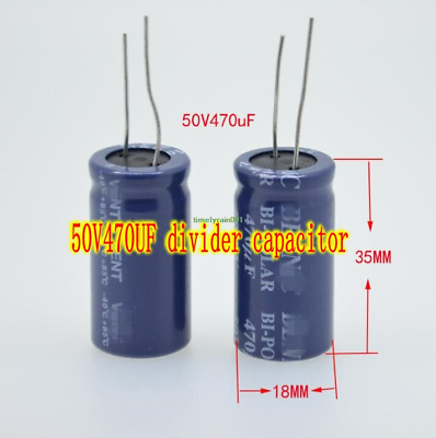 20V50uf electrolytic capacitor Axial copper feet Capacitors