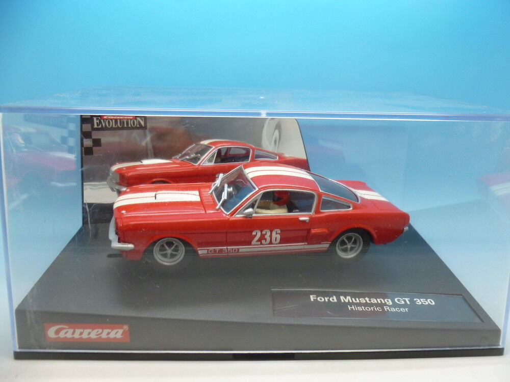 Carrera 25713 Evolution Ford Mustang GT 350 Historic Racer, mint unused