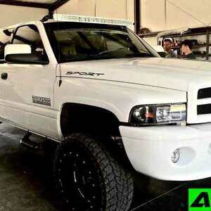 52 curved led light bar roof mount dodge ram 1994 2001 1500 mounts image is loading 52 034 curved led light bar roof mount aloadofball Image collections