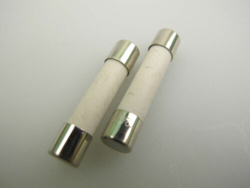 //Slow Blow Fuse x 2 1st Class Post T 10A 32mm x 6mm Ceramic Time Delay