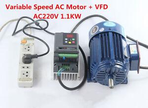 Variable-Speed-AC-Motor-Low-rpm-Motor-VFD-Inverter-AC220V-1-1KW-600-2800rpm