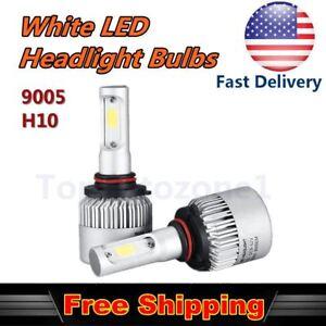 Details About 2x 30w Cob Headlight High Beam Bulb White Car Led For 99 16 Honda Accord Sedan