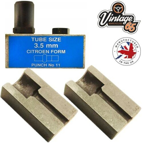 Citroen 2CV DS HY Van 4.5mm Brake Pipe Flaring Punch /& Die For Hydraulic Lines