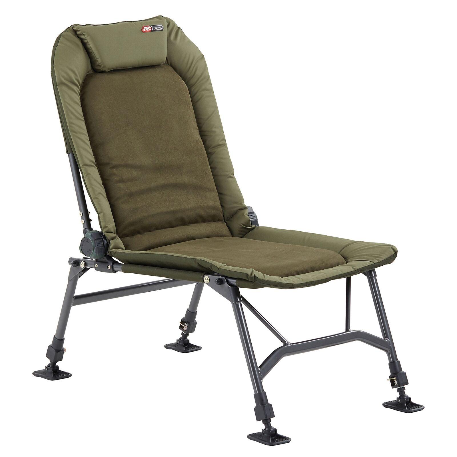 JRC Cocoon 2G Recliner Chair Karpfenstuhl Angelstuhl Angelstuhl Angelstuhl Klappstuhl Bis 150kg 10d163
