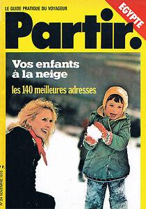 Partir - N°24 - Novembre 1975 - Egypte