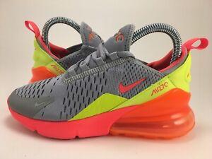 Nike Air Max 270 GS Neon Running Shoes