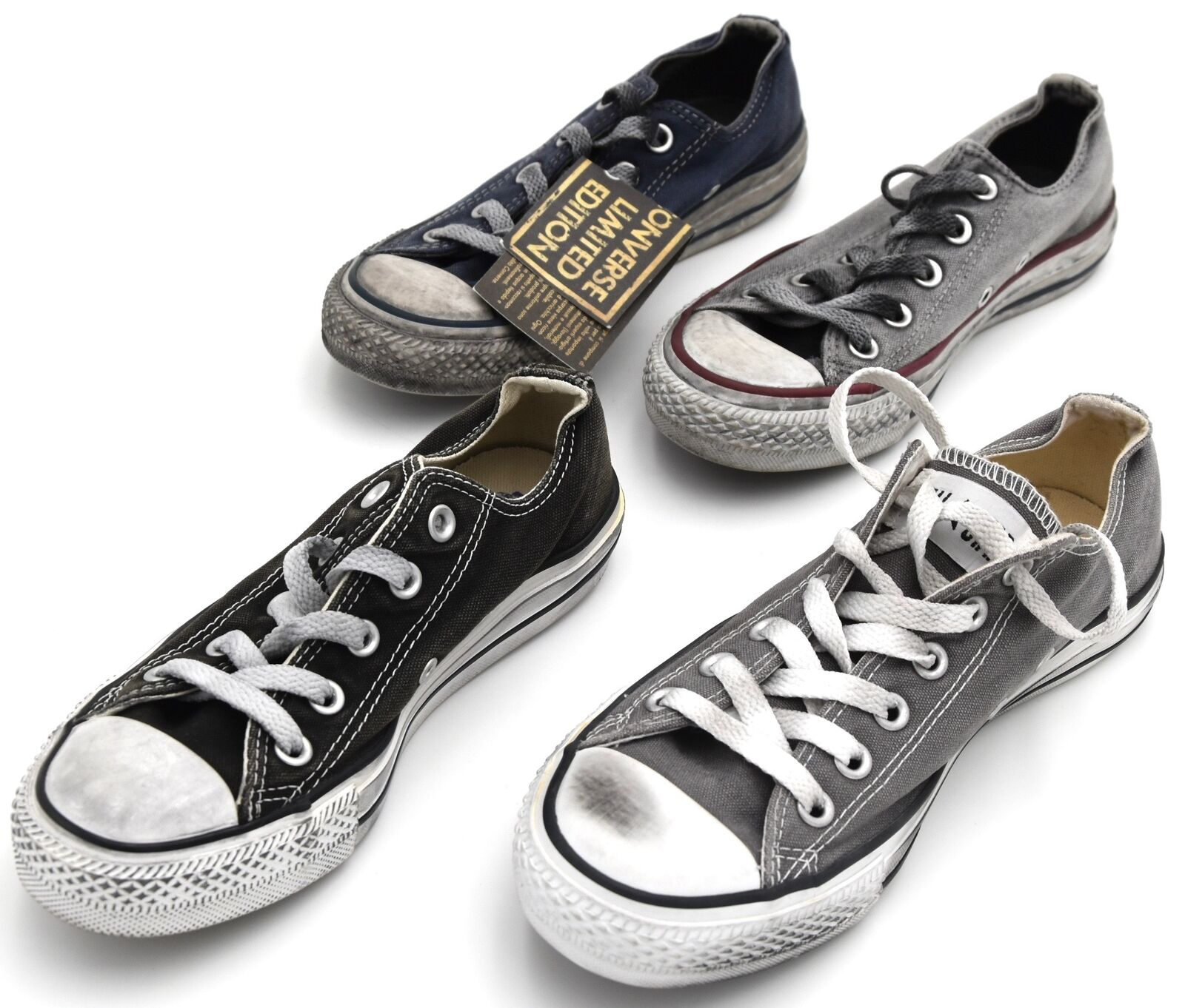 CONVERSE UOMO UOMO UOMO DONNA UNISEX SCARPA scarpe da ginnastica CASUAL ART. ALL STAR OX CANVAS LTD 7035a9
