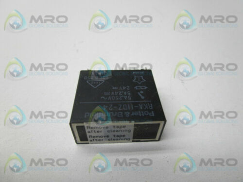 POTTER /& BRUMFIELD RKA-11DZ-24 SOLID STATE RELAY 24V NEW IN BOX *