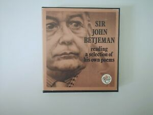 Sir-John-Betjeman-Reading-a-Selection-of-His-Own-Poems-RARE-RECORDING-cassette
