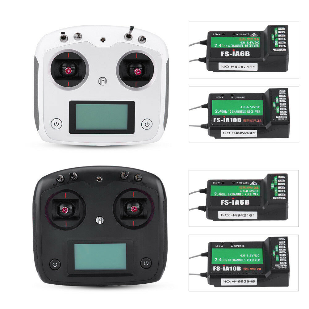 Flysky FS-i6S i6 Upgrade Version 2.4G 10CH Touch Screen Transmitter For RC Drone