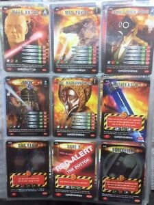25 Doctor Who Battles in Time Exterminator Cards Choose From Huge List!