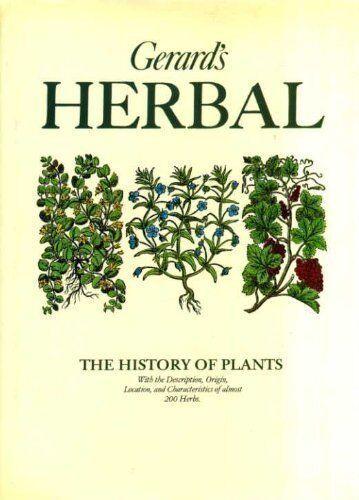 Gerard's Herbal By John Gerard, Marcus Woodward