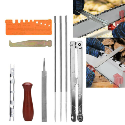 1 Set Chainsaw Chain Saw Sharpening Kit Chainsaw File Tool Set Guide Bar File