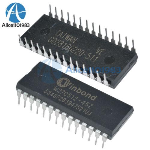 5PCS W27C512-45Z W27C512 DIP IC EEPROM 512KBIT 45NS Winbond EEPROMs