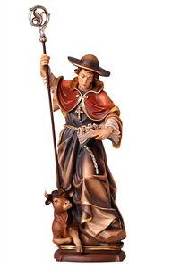 Statua-San-Leonardo-cm-30-In-legno-scolpita-a-mano