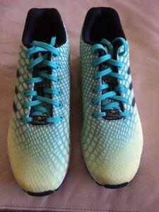 284710324c083 New Adidas Torsion ZX Flux Xeno Green Yellow Size 10 1 2 Mens ...