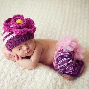 Melondipity Pink Daisy Baby Girl Baby Hat - Handmade Striped Crochet ... c5d17b5818b1