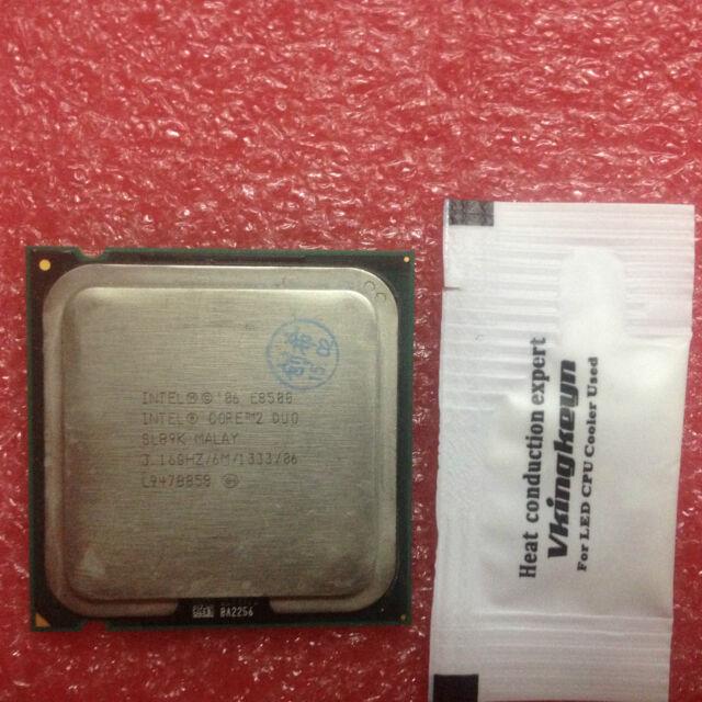 Intel Core 2 Duo E8500 3,16GHz 1333MHz 6M SLB9K CPU Prozessor Socket LGA 775