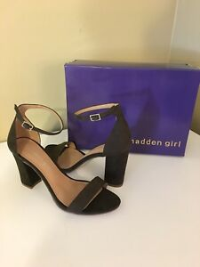 e651d2f0cce3fe Image is loading NEW-Madden-Girl-Bella-Sandals-Size-7M