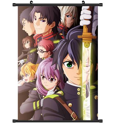 4366 Owari no Seraph Of The End Anime Manga Home Decor Poster Wall Scroll A
