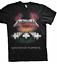Metallica Master of Puppets European Tour 86 T-shirt Cotton Regular Size S-3XL