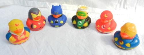 Superhero Hero Rubber Duck BNWT
