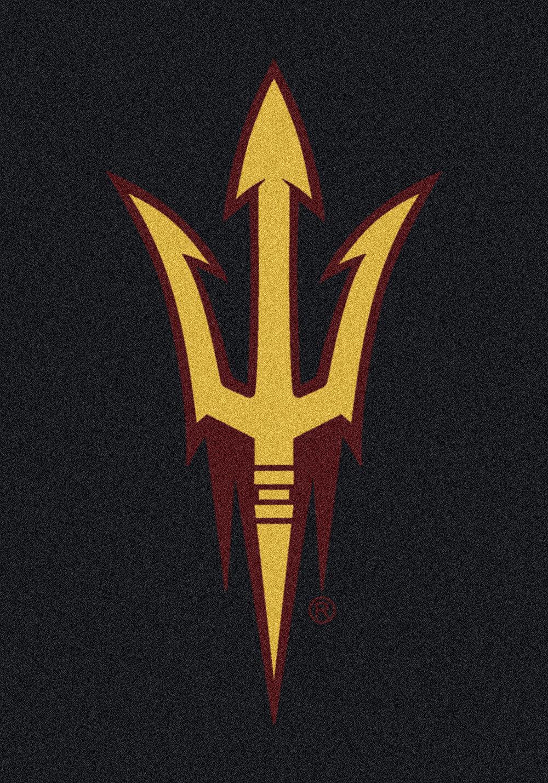 2x4 Milliken Arizona State Sun Devils NCAA Spirit Area Rug - Approx 2'8 x3'10